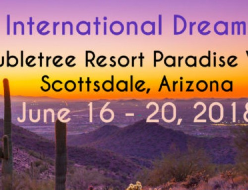 IASD 2018 International Dream Conference – June 16-20. Registration is now open!